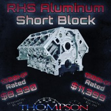 RHS Aluminum 388/427ci Short Block 1300HP rated