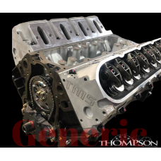 5.7L Performance Stock Replacement Iron Long Block w/ Cathedral Port Heads 500HP