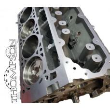 LT4 forged piston and rod stock crankshaft