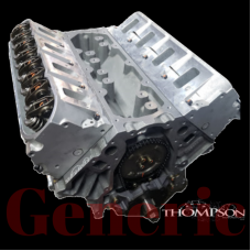 5.7L Aluminum Performance Stock Long Block w/ Cathedral Port Heads 500HP
