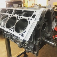Sleeved aluminum block all forged 388ci or 427ci